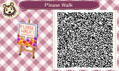 """aclovin:  my """"please walk"""" sign :D I thought I'd share all I know how to do is make pansies soooo…"""