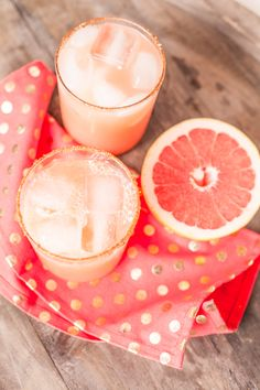 Spicy Grapefruit Margarita #drinks #margarita #grapefruit