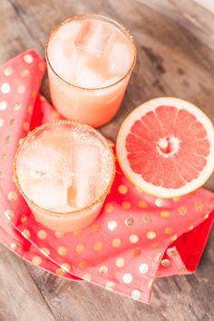 Spicy Grapefruit Margarita | cocktail recipe.