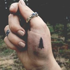 small tree tattoo #Ink #Youqueen #girly #tattoos #tree @youqueen
