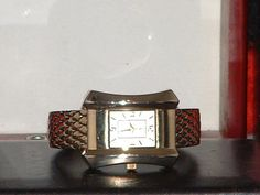 Ladies Gold Tone Bangle Fashion Watch by DirectAuctions on Etsy