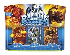 SKYLANDERS SPYROS ADVENTURE ERUPTOR  CHOP CHOP  BASH ** Be sure to check out this awesome product.