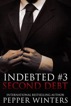 Nancy's Romance Reads: Cover Reveal: SECOND DEBT by Pepper Winters - Giveaway