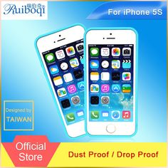 2015 recién llegado de Ruiboqi transparente del caso para Apple Iphone 5S 5 prueba de polvo Clear cubierta del teléfono para el Iphone 5S 5 teléfono Bages y estuches