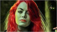 'Gotham City Sirens': Así sería Emma Stone si fuese Hiedra Venenosa