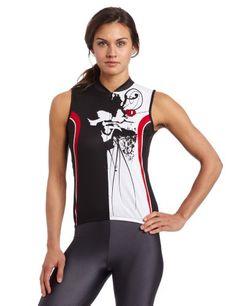 Pearl Izumi Women's Select LTD Sleeveless Jersey, Black Samurai, Small - http://ridingjerseys.com/pearl-izumi-womens-select-ltd-sleeveless-jersey-black-samurai-small/