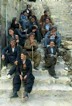 Kurdish elders