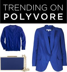 """Trending on Polyvore: Royal Blue"" by polyvore-editorial ❤ liked on Polyvore"