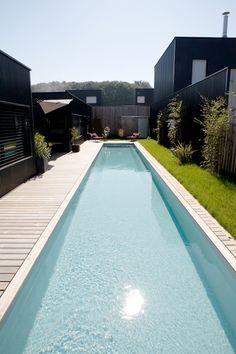 1000 images about mon projet piscine couloir de nage for Prix d une piscine