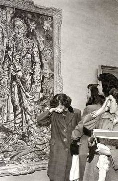 Viewers repulsed by Ivan Albright's The Picture of Dorian Gray