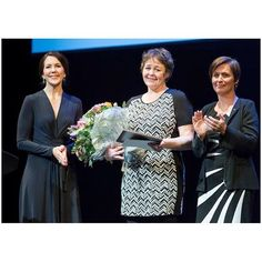 Princess Mary of Denmark presented the Cancer Society's Honour Award in connection with the Cancer Day on February 4 2016.