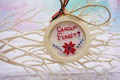 Fotografie de produs: Craciun fericit! Decoratiune de iarna cusuta manual