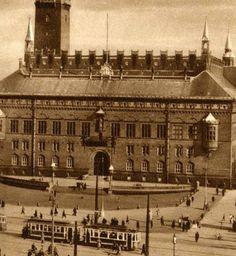 Copenhagen, Rådhuspladsen 1900 public life