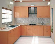 L Shaped Kitchen Interior, L Shaped Kitchen Cabinets, Modern L Shaped Kitchens, L Shaped Kitchen Designs, Simple Kitchen Cabinets, Simple Kitchen Design, Kitchen Cupboard Designs, Kitchen Room Design, Contemporary Kitchen Design