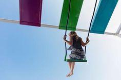 21 BALANÇOIRES Installation Interactive, Outdoor Decor, Turtle Bulletin Board, Travel