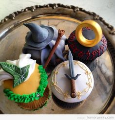 Cupcakes from The Lord of the Rings
