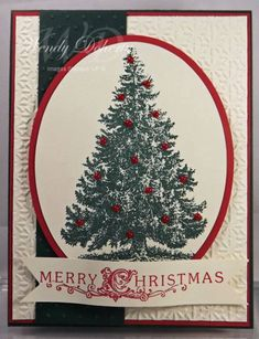 Vintage Christmas Tree by Wdoherty - Cards and Paper Crafts at Splitcoaststampers