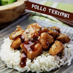 Rico pollo teriyaki para una comida con toques asiáticos  #food #foodie #recetas #recipes #saludable #pollo #foodlover #cooking #comida #teriyaki