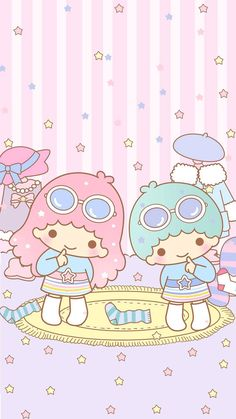 Trendy wall paper cute iphone kawaii little twin stars ideas My Melody Wallpaper, Sanrio Wallpaper, Star Wallpaper, Kawaii Wallpaper, Iphone Wallpaper, Kitty Wallpaper, Hello Kitty Backgrounds, Cute Backgrounds, Cute Wallpapers