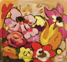 Anemones Louis Valtat - 1935