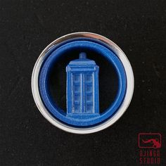 Tardis Plugs 1inch  2inch Doctor Who Tunnels  316L by OjingoStudio, $39.95