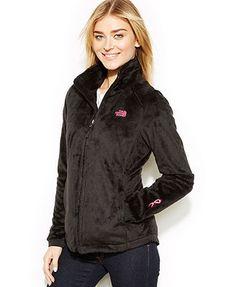 c3f46fab8f The North Face Pink Ribbon Osito 2 Fleece Jacket   Reviews - Jackets    Blazers - Women - Macy s