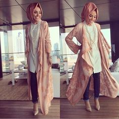 Peaches and cream #hijab style