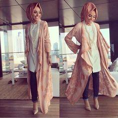 Peaches and cream #hijab style