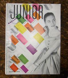 Alexey Brodovitch - Junior Bazaar, Mar 1946