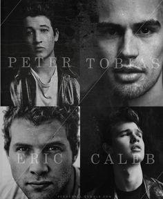 Divergent boys  ~Divergent~ ~Insurgent~ ~Allegiant~