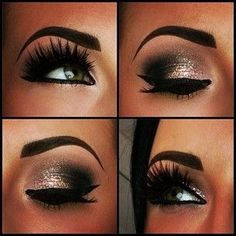 Smokey Eye.  Beautiful!