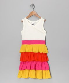 Adorable Ruffle Dress by Limeapple on #zulily today!