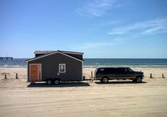 The Wanderlust home from Tumbleweed Tiny House Company. A 170 square foot tiny house on wheels.