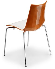 Modern dining chair by SCAB Design Italy. Made in Italy.