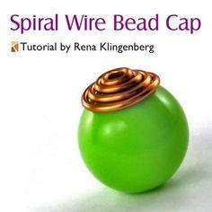 Spiral Wire Bead Cap