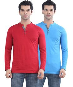 399f6083 46 best Henley T Shirts Combo Offers images in 2016 | T shirts for ...