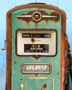 Photograph of Dino Gas Pump