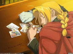 Fullmetal+Alchemist+Brotherhood+Edward+Elric | Fullmetal Alchemist Brotherhood Edward Elric Sleeping with Winry ...