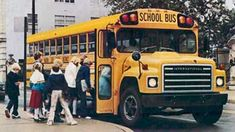 Volkswagen Bus, Vw Camper, Volkswagen Beetles, Old School Bus, School Buses, High School, Richmond Indiana, International Harvester Truck, Bus Terminal