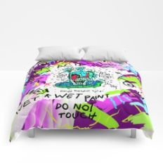 Say No To Acid  Comforters
