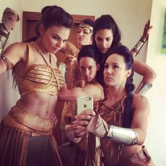I love seeing these because it looks just like the Amazonians got a hold of a camera phone and are just taking a bunch of pictures of themselves lol.