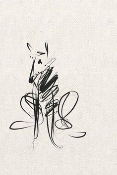 dog training,teach your dog,dog learning,dog tips,dog hacks Dog Illustration, Illustrations, Line Drawing, Painting & Drawing, Animal Drawings, Art Drawings, Scribble Art, Greyhound Art, Dog Paintings