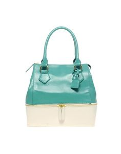 Love this two tone bag