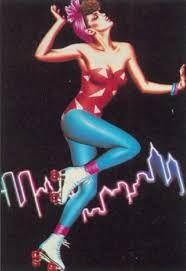 Resultado de imagem para 80's neon