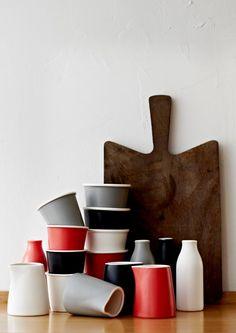 Robert Gordon Pottery! Barista range available instore in white