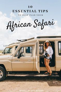 Do you need a safari outfit? Do you really have to bring binoculars? Find out our advice before your first safari in our essential Africa Safari Tips post! Africa Destinations, Travel Destinations, Safari Outfits, Namibia, Road Trip, African Safari, Safari En Africa, East Africa, Africa Travel
