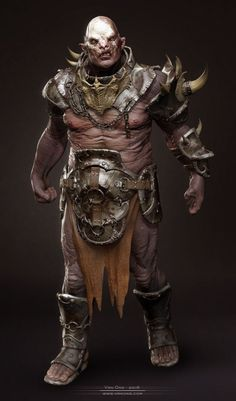 CGTalk - Orc - 3D rendered: