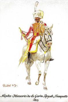 Tromba degli ussari della guardia reale