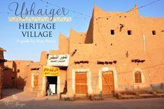 guide to ushaiger heritage village riyadh