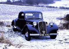 Citroen Traction Avant Type 11 Coupe, 1938